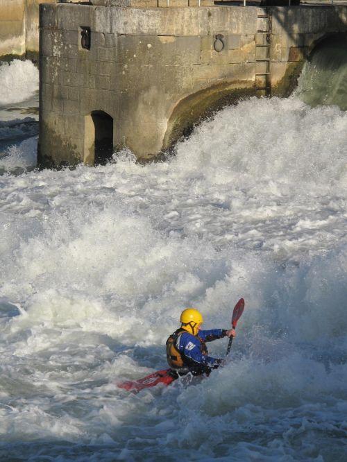 kayaking kayaker sport