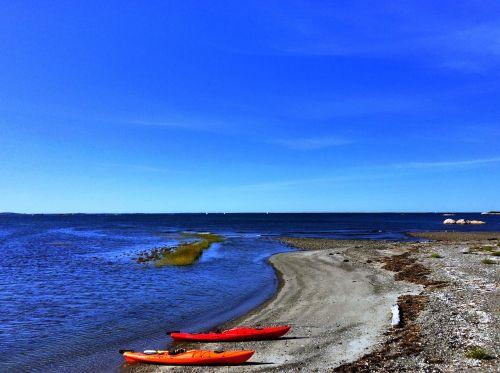 kayaks beach cohasset