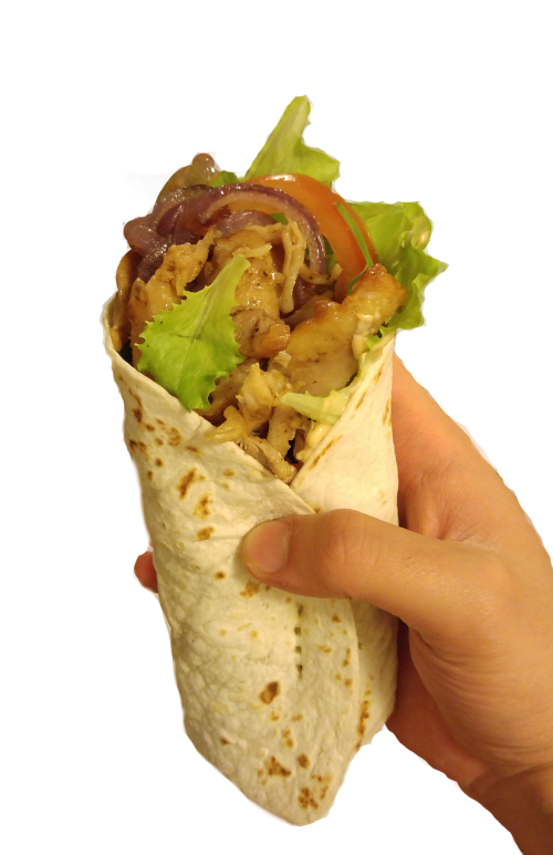 kebab food piadina