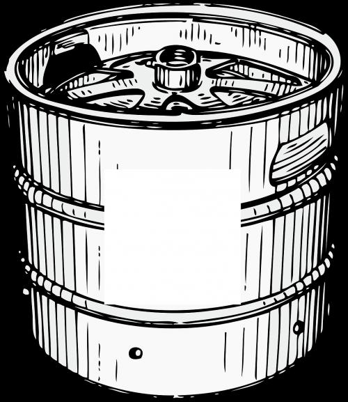 keg beer barrel