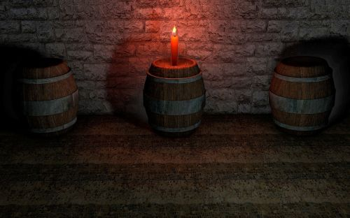 keller barrel candle