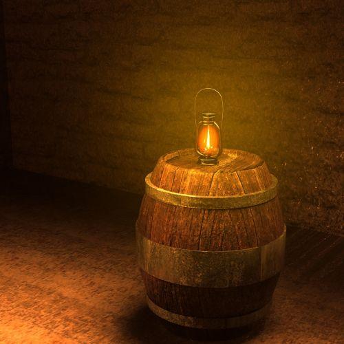 keller barrel lantern