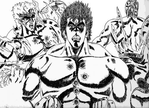 ken kenshiro comics