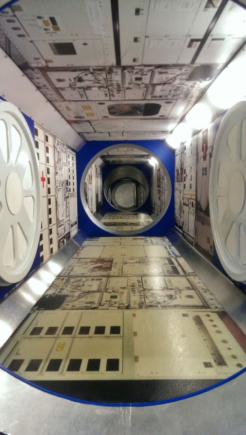 kennedy space center spaceship interior
