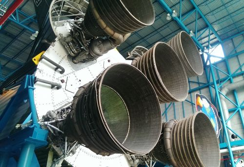 kennedy space center nozzles rocket