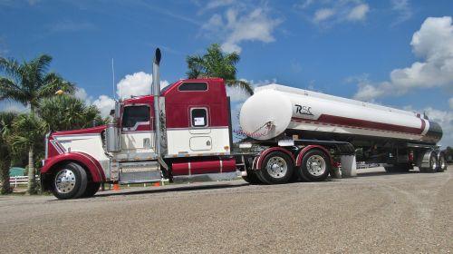 kenworth truck tanker