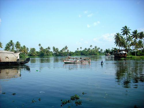 kerala south india backwaters