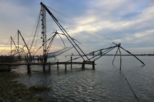 kerala fishing fishnet