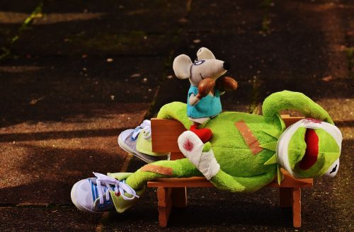 kermit mouse stuffed animal