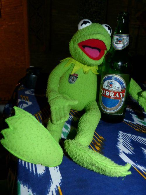 kermit frog beer