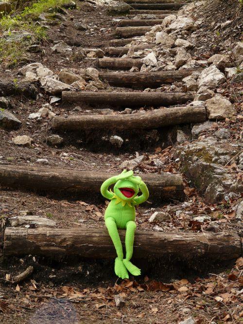 kermit frog sit