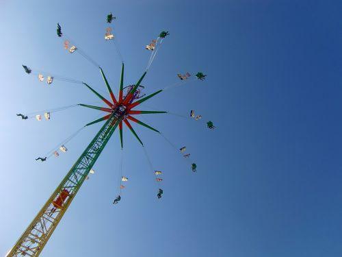 kettenkarusell fairground oktoberfest
