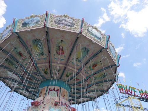 kettenkarusell carousel sky