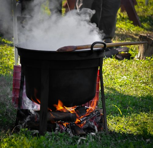 kettle cauldron preparation