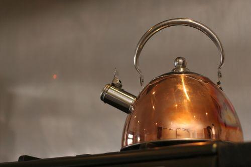 kettle water boiling