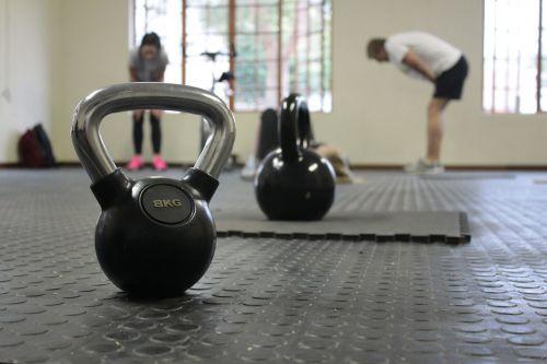 kettle bell training fitness