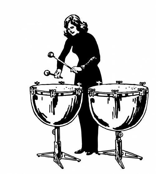 Kettle Drums Illustration