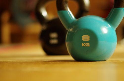 kettlebell training fitness