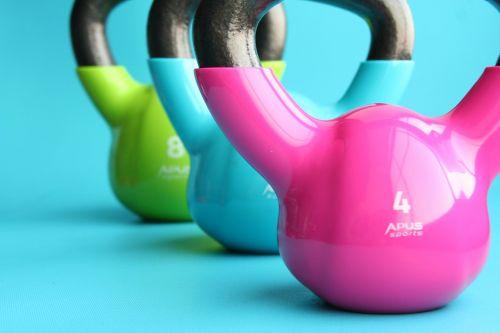 kettlebells gym exercise
