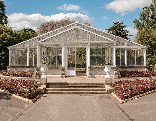 kew  greenhouse  summer