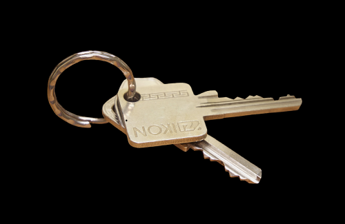 key keychain house keys