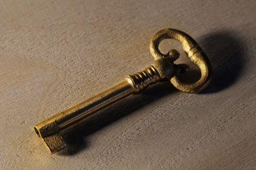 key antique old