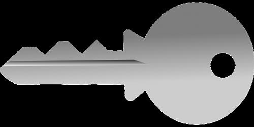key shaded grey