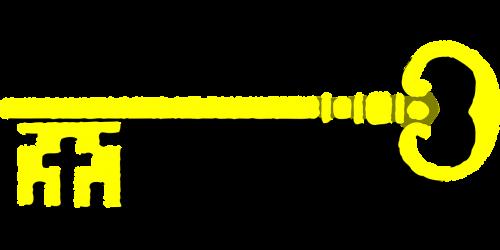 key golden gold