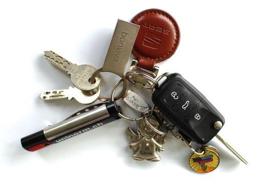 key keychain car keys