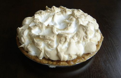key lime pie meringue topped tasty