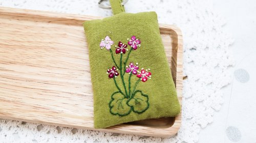 key ring  keyring  embroidery