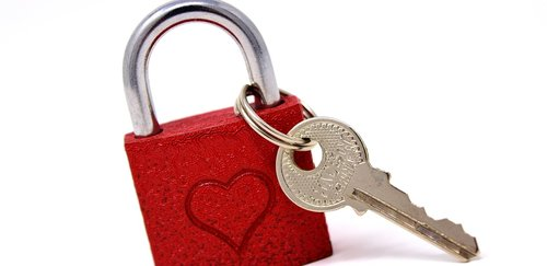 key to the heart  love  castle
