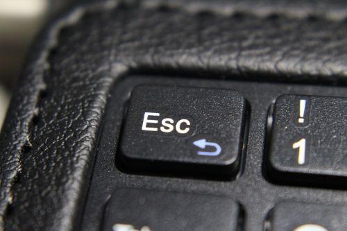 keyboard esc corner