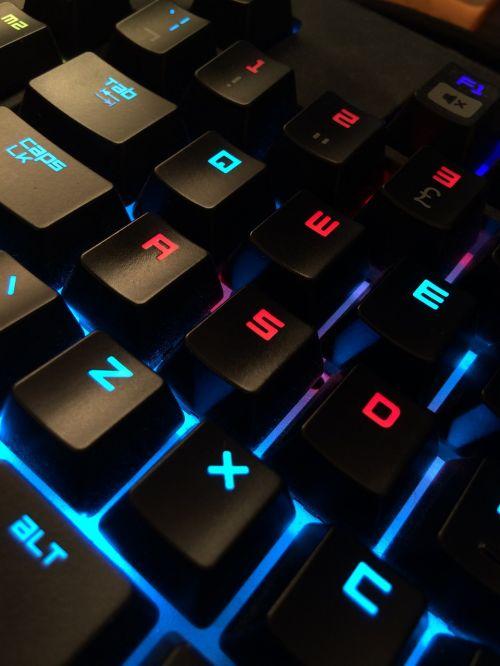 keyboard gamer computer
