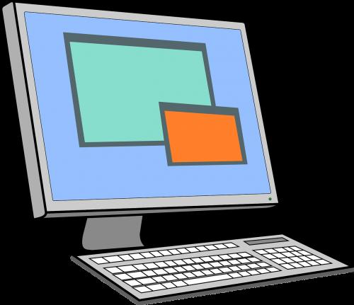 keyboard lcd screen monitor
