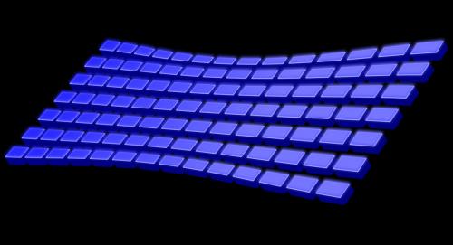 keyboard plain keys