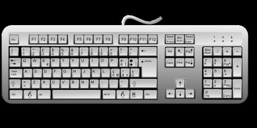 keyboard keys computer