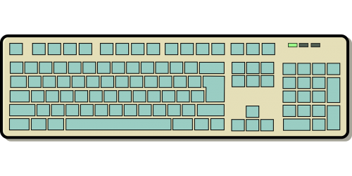 keyboard input device