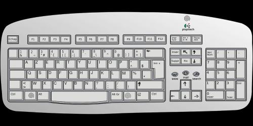 keyboard computer communication