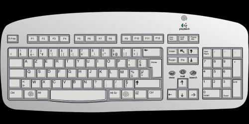 keyboard electronics input
