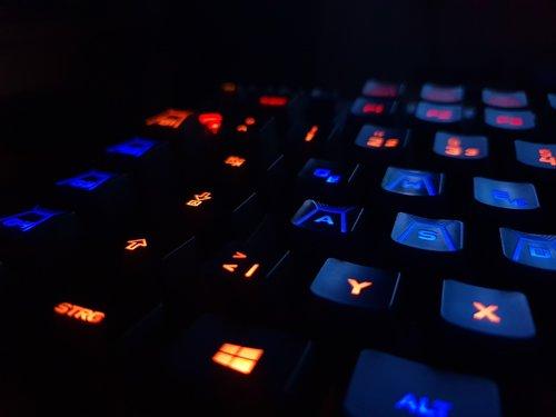 keyboard  key  led