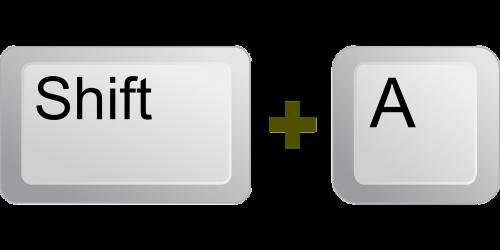 keyboard key button