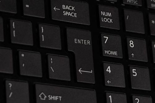 keyboard laptop notebook