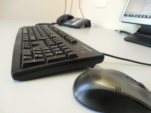 keyboard mouse phone