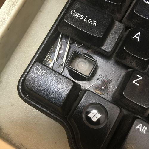 keyboard keys dirt