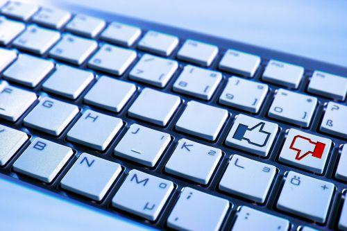 keyboard computer facebook