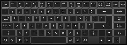 keyboard pixabay keys
