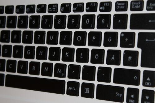 keyboard laptop keys