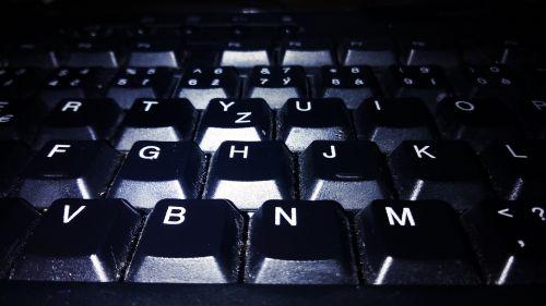 keyboard,písmenka,buttons,black,light,wednesday