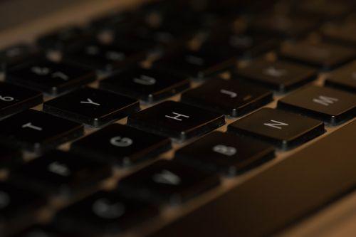 keyboard laptop computer